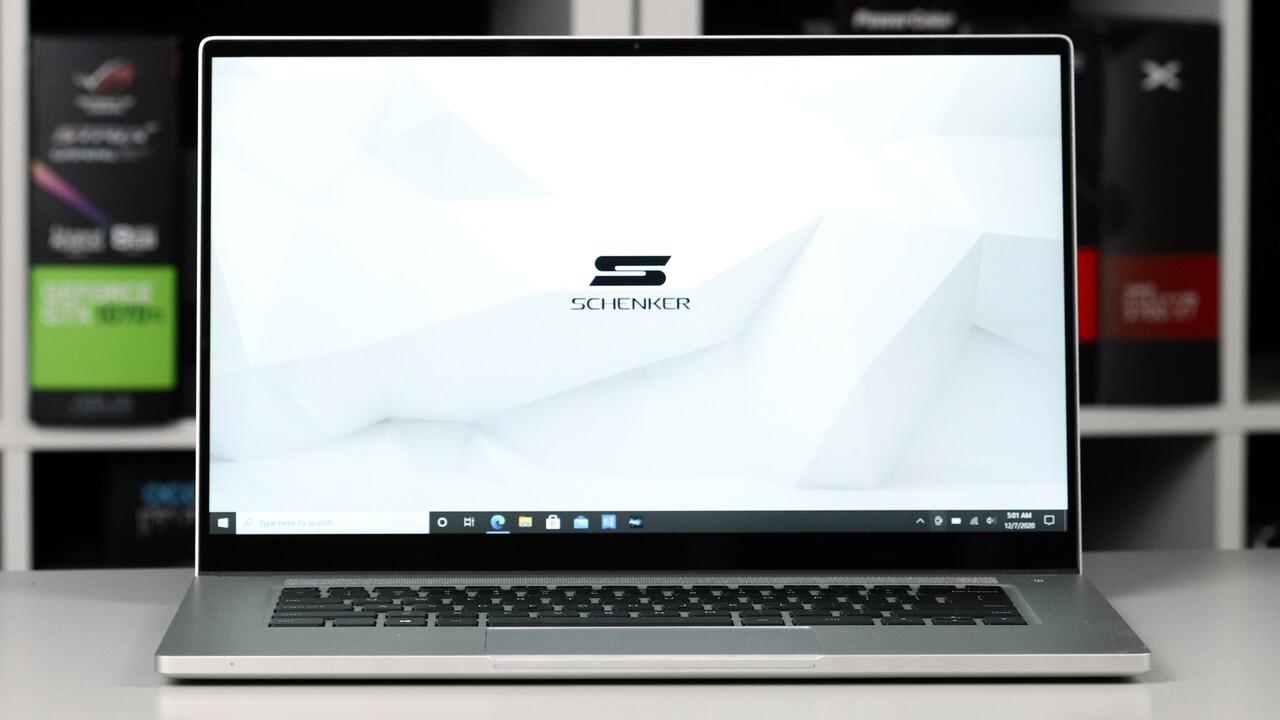 Schenker Vision 15 im Test: Intels Referenz-Notebook mit Tiger Lake bei bis zu 40 Watt