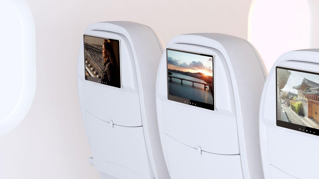 OLED im Flugzeug: JOLED kooperiert mit AERQ für mittelgroße Bildschirme