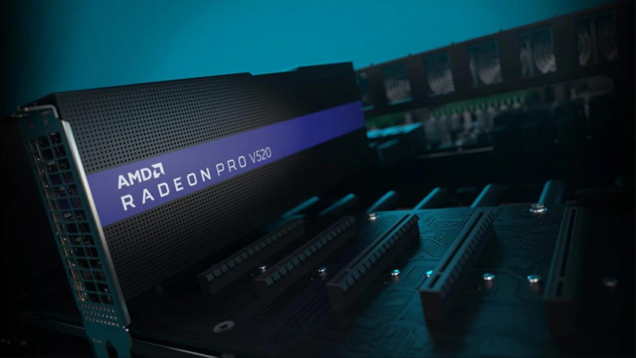 AMD: Radeon Pro V520 schafft keine 1.475 TFLOPS oder 1.000 GHz