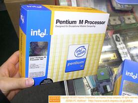 Neue Pentium M-Prozessoren in Japan gesichtet