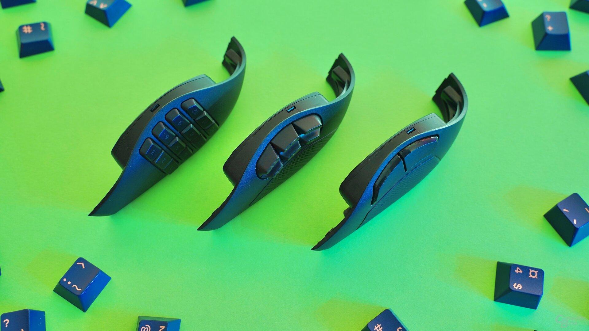 Seitenmodule der Razer Naga Pro