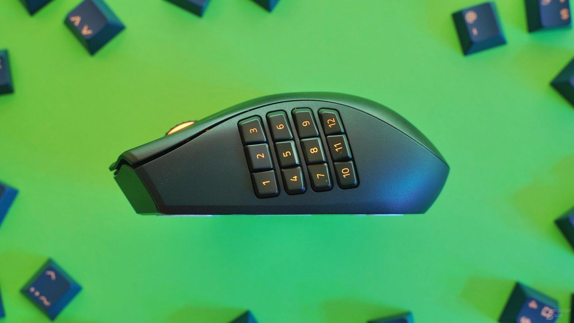 Razer Naga Pro mit 12-Tasten-Modul