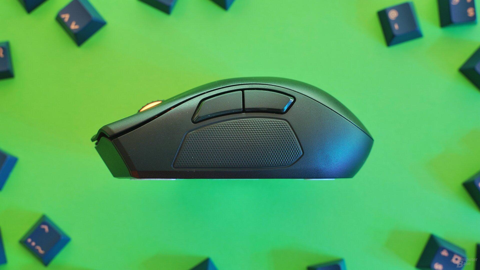Razer Naga Pro mit 2-Tasten-Modul