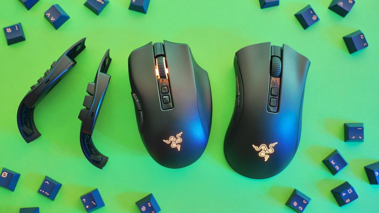 Naga Pro & DeathAdder V2 Pro im Test: Zwei sehr gute zum Preis von vier guten Mäusen
