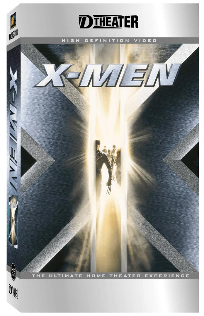 X-Men auf D-Theater (D-VHS)