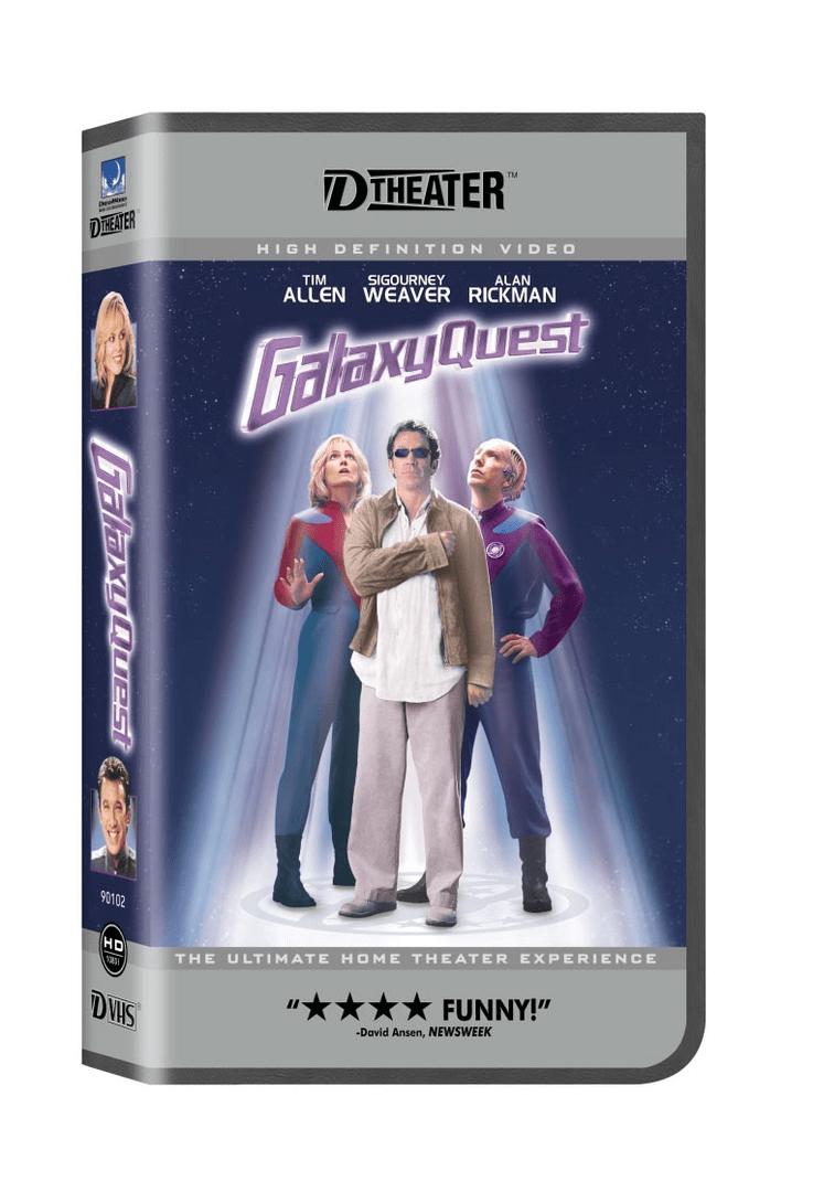 Galaxy Quest auf D-Theater (D-VHS)