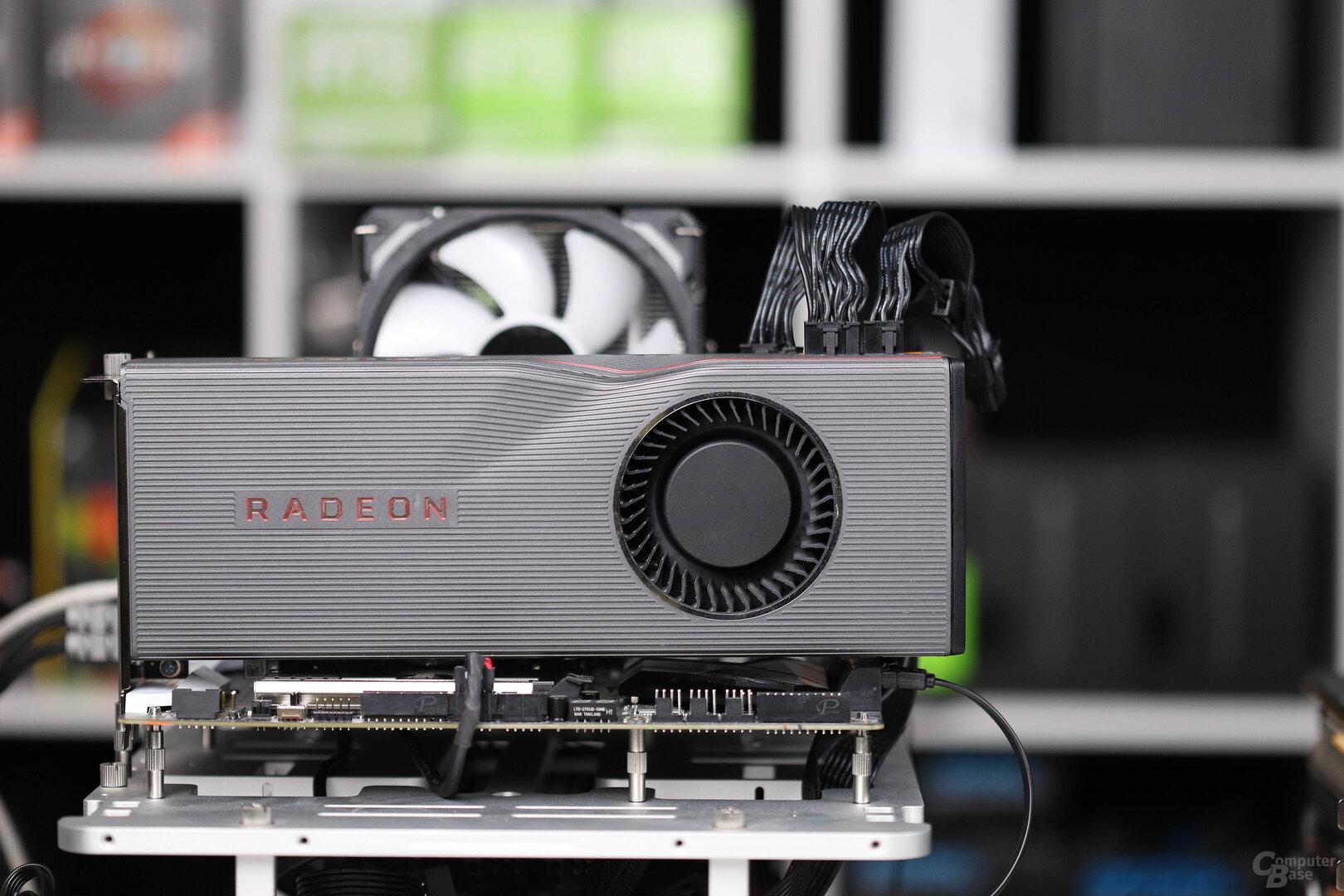Radeon RX 5700 XT im Referenzmodell von AMD