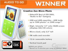 Creative Zen Micro Foto
