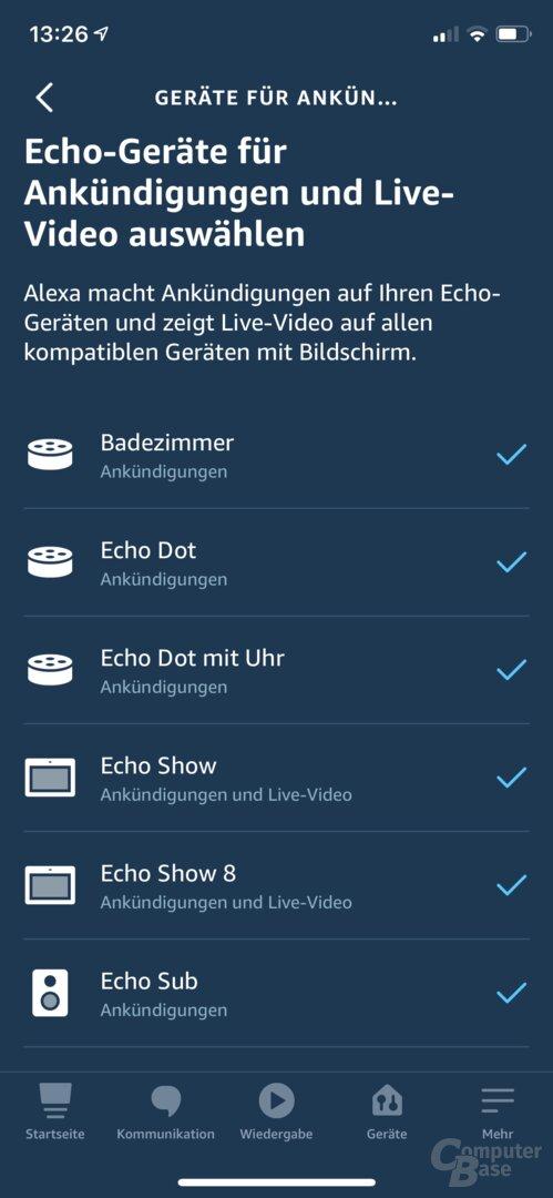 Ring Video Doorbell 3 Plus mit Alexa verbinden