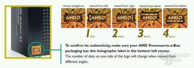 AMD preist sein neues, altes Logo