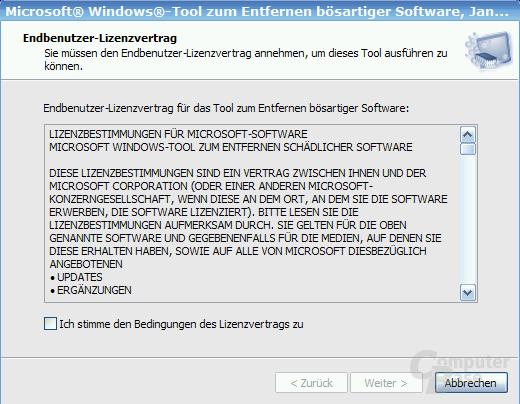Microsoft Virus-Removal-Tool