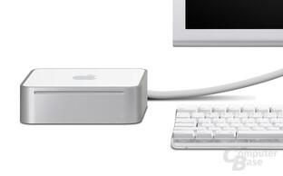 Mac mini angeschlossen