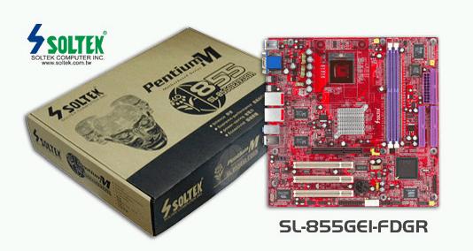 Soltek SL-855GEI-FDGR