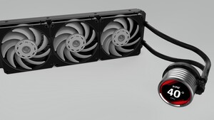 """XPG Levante Pro: Neue AiO-Wasserkühler mit Display und """"Pro""""-Lüftern"""