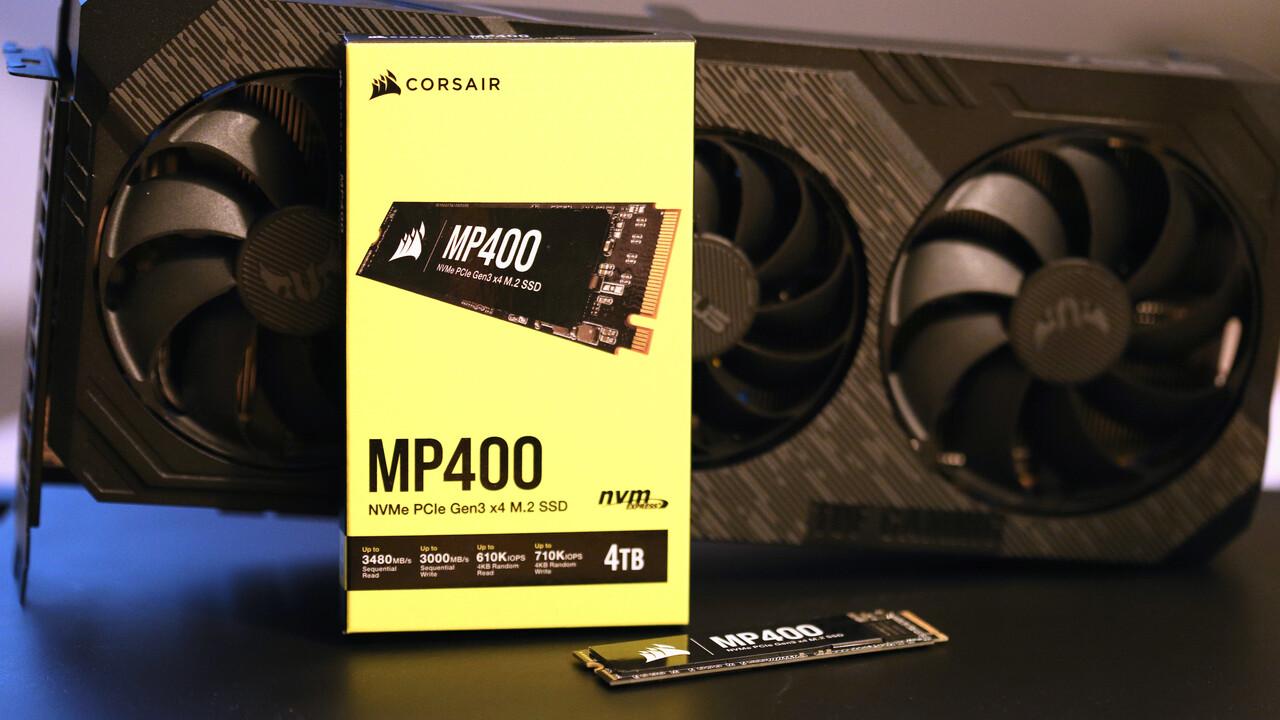 Corsair MP400 4 TB im Test: Große QLC-SSD mit ausdauerndem SLC-Modus - ComputerBase