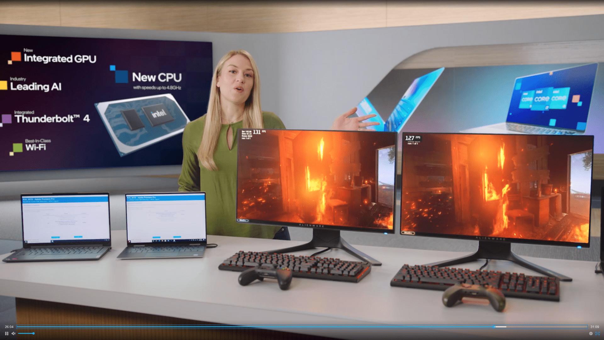 Hersteller-Benchmarks: Intel Core i9-11900K gegen AMD Ryzen 9 5900X