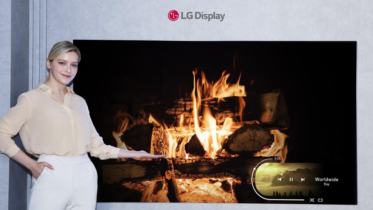 OLED: LG Display kündigt effizientere Panels mit 42 bis 88 Zoll an