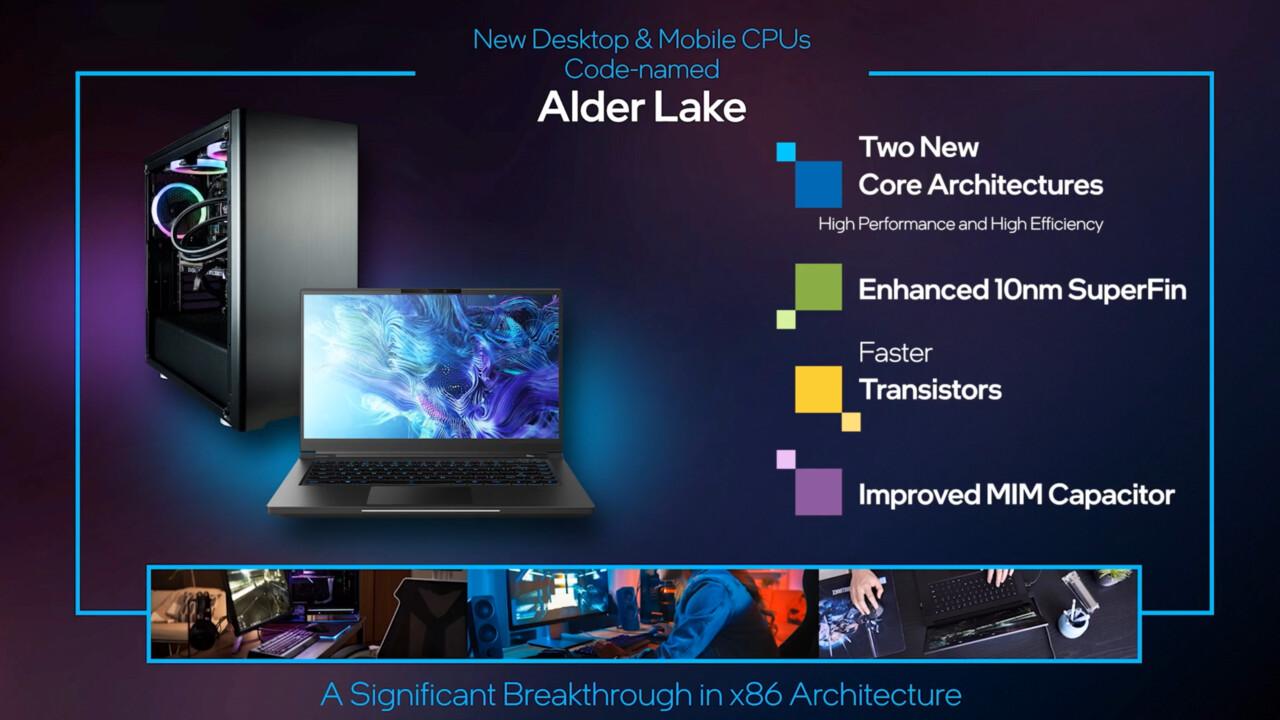 Intel Alder Lake-S: Lauffähiges System mit Hybrid-CPU gezeigt
