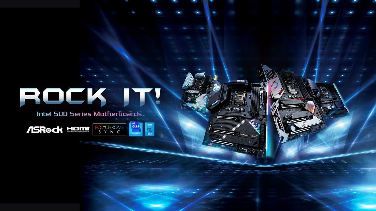 ASRock: 21 Platinen mit Z590, H570 und B560 für Intel Rocket Lake-S