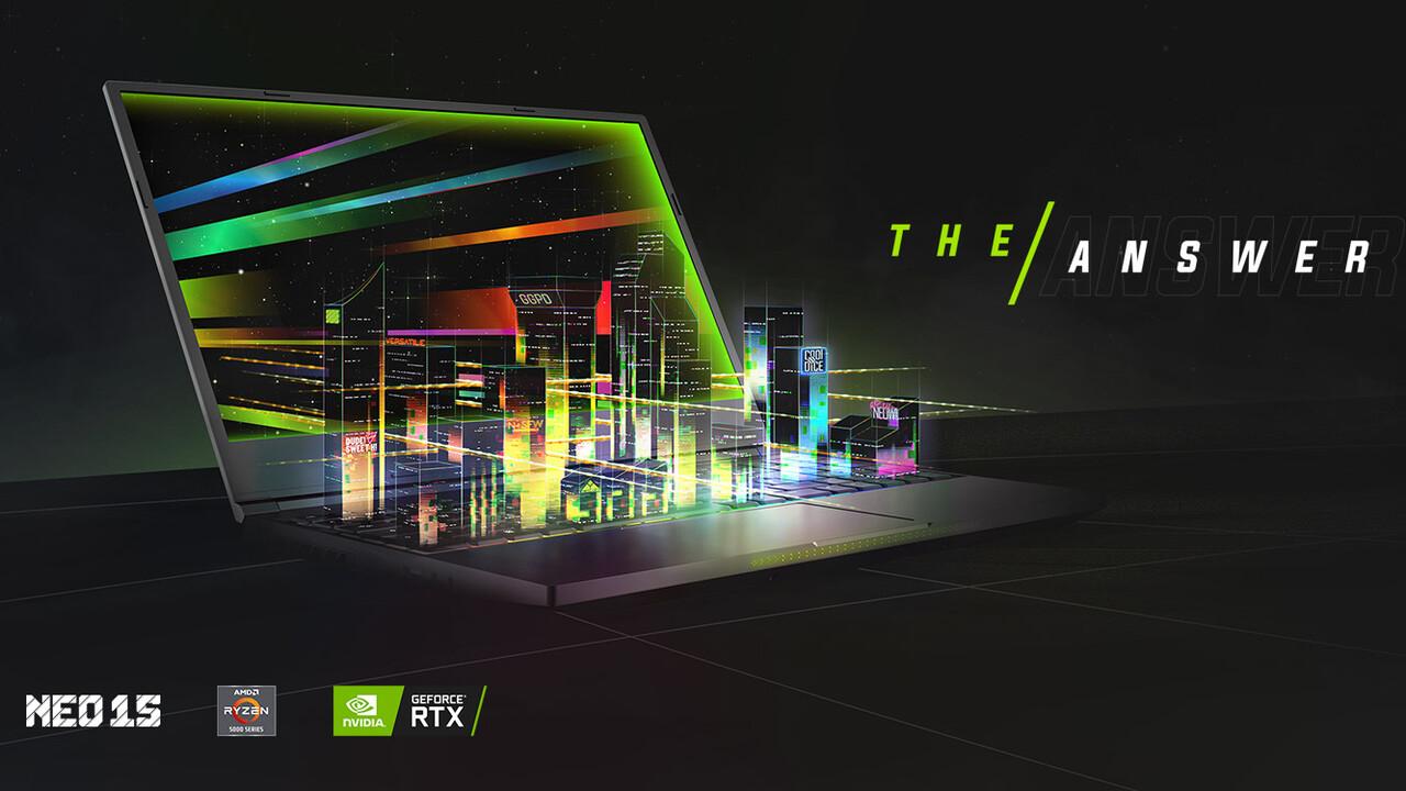 XMG Pro und Neo 2021: Gaming-Notebooks mit RTX 3000 (und AMD Ryzen)