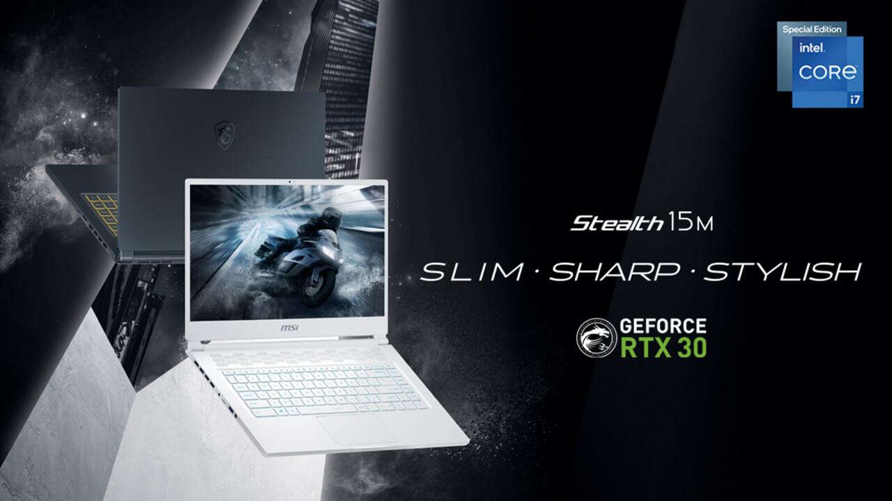 Stealth 15M 2021: Auch MSI paart Intels SE-CPU mit der RTX 3060 Max-Q