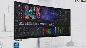 LG 40WP95C: 5.120 × 2.160 und erstmals Thunderbolt 4 im Monitor