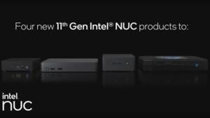 Tiger Lake: Intel kündigt mit vier NUC-11-Serien 44 Produkte an