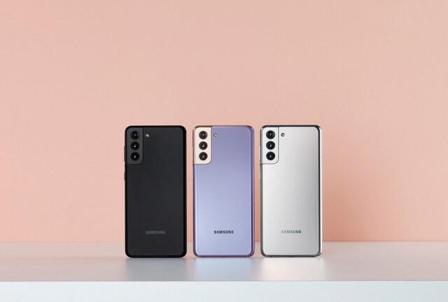 Samsung Galaxy S21+ (Bild:Samsung)