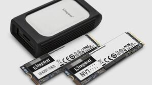 """Codename """"Ghost Tree"""": Kingston mit 7GB/s schneller PCIe-4.0-SSD und mehr"""