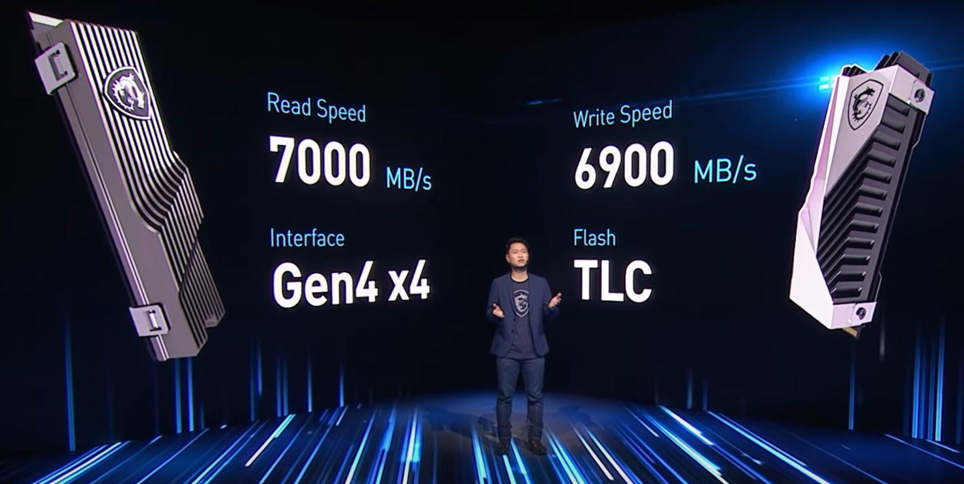 Erste MSI-SSDs nutzen PCIe 4.0 für 7 GB/s
