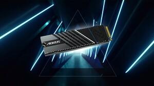 Aorus Gen4 7000s: Gigabytes neue PCIe-4-SSDs mit 7 GB/s und Turmkühler