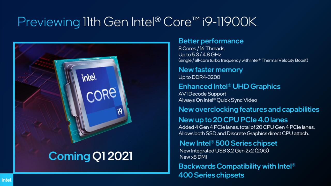 Wochenrück- und Ausblick: Intel will AMD schlagen, Samsung zieht das S21 vor