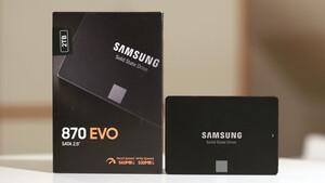 Samsung 870 Evo im Test: Der Klassenprimus mit MKX-Controller und TLC