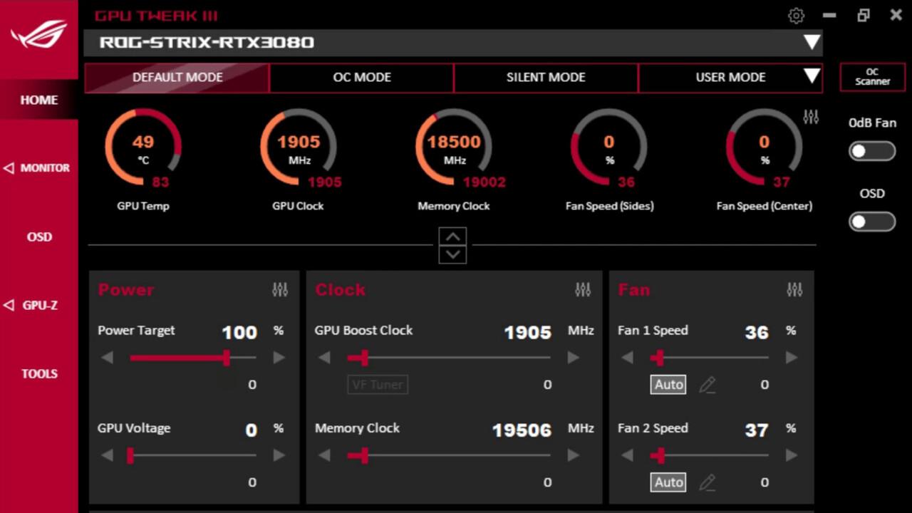 GPU Tweak III: Asus veröffentlicht offene Beta seines neuen OC-Tools