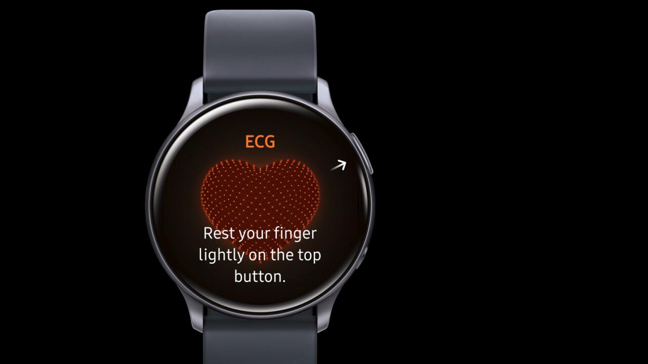 Samsung Galaxy Watch: Blutdruckmessung und EKG demnächst in Europa möglich