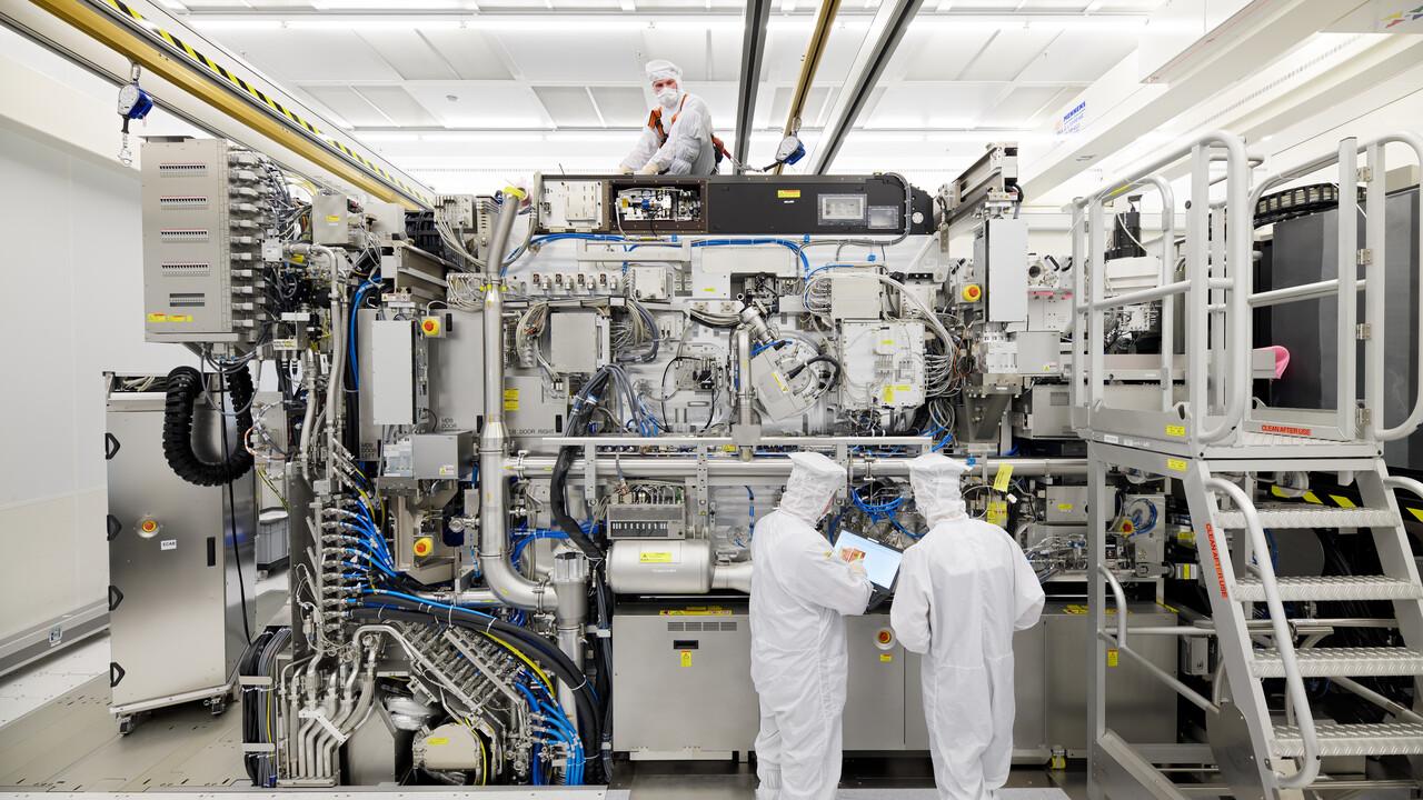 ASML-Quartalszahlen: 31 EUV-Systeme in 2020 ausgeliefert
