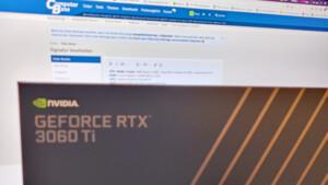 Aus der Community: Eine Nvidia GeForce RTX 3060 Ti für 406,99 Euro