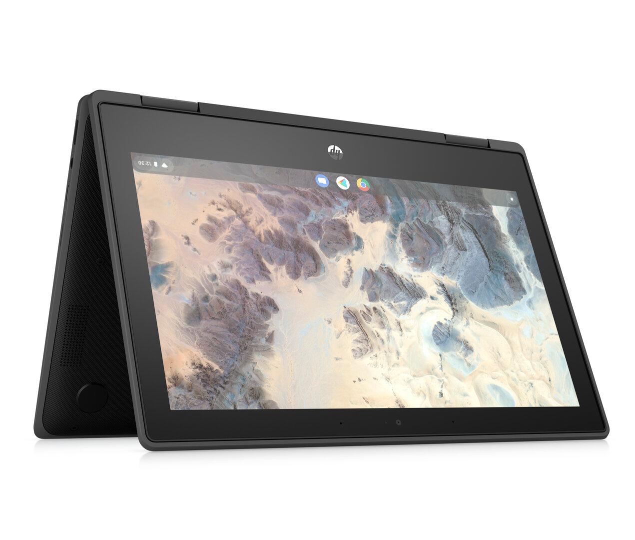 HP Chromebook x360 11 G4 EE (Jet Black)