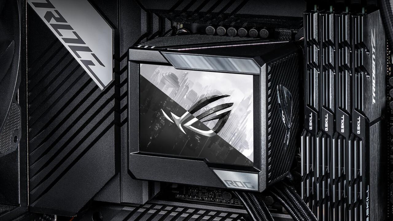 Asus ROG Ryujin II 240: AiO-Wasserkühlung mit 3,5 Zoll großem Display