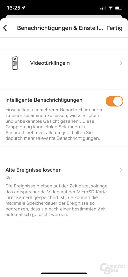 Netatmo-Security-App für die Smarte Videotürklingel
