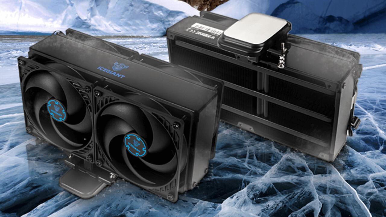 IceGiant ProSiphon Elite: Thermosiphonkühlung meistert Threadripper & Co