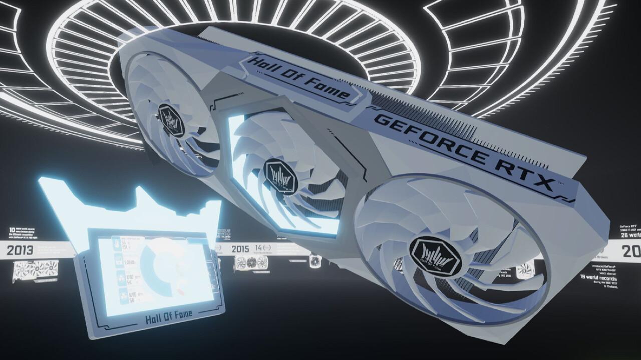 Galax GeForce RTX 3090 HOF: Gaming Ampere mit 26 Phasen und externem LC-Display