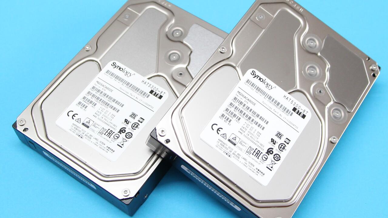 Synology HAT5300 im Test: HDD-Debüt für die eigenen NAS mit 8, 12 und 16 TB