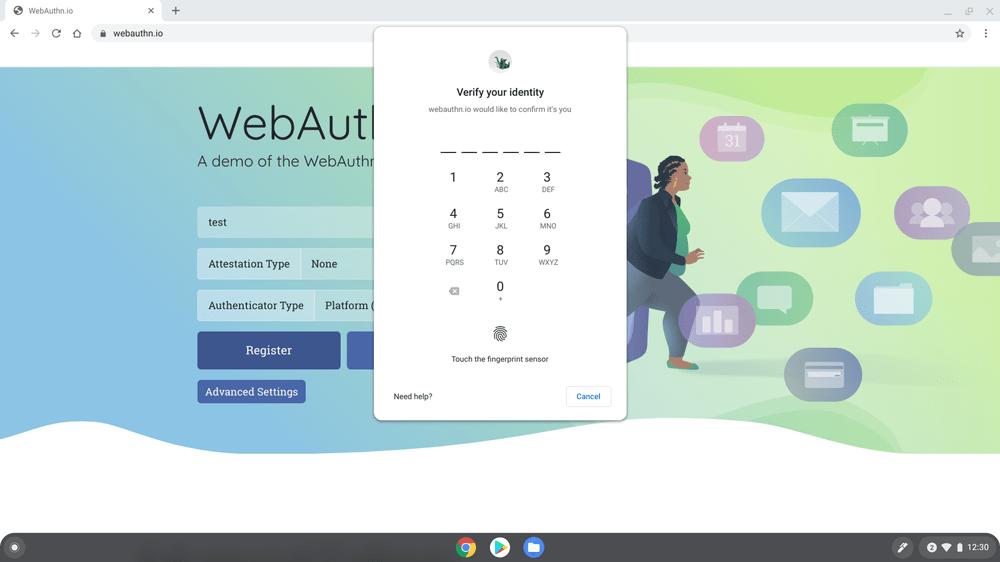 WebAuthn und 2FA sollen die Anmeldung mit Chrome OS 88 schneller und sicherer machen