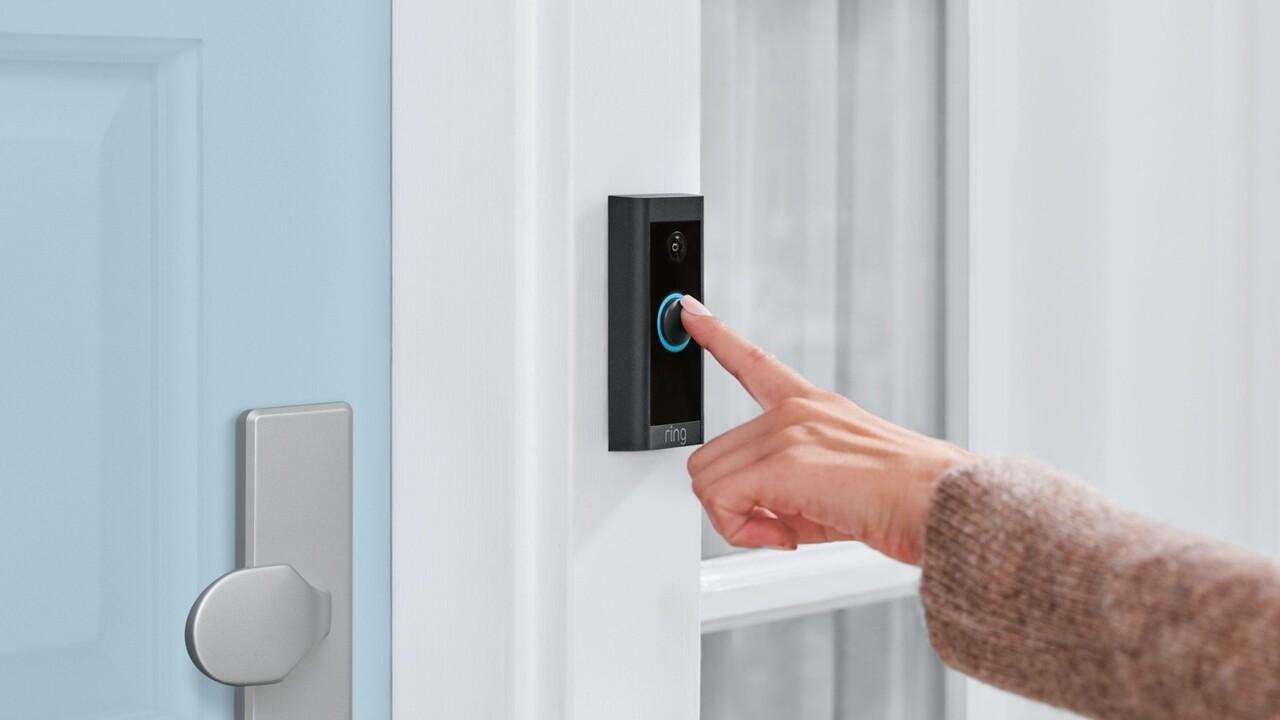 Ring Video Doorbell Wired: Kleine und günstige Video-Türklingel startet im Mai