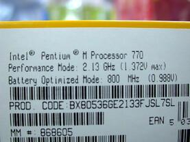 Pentium M 770