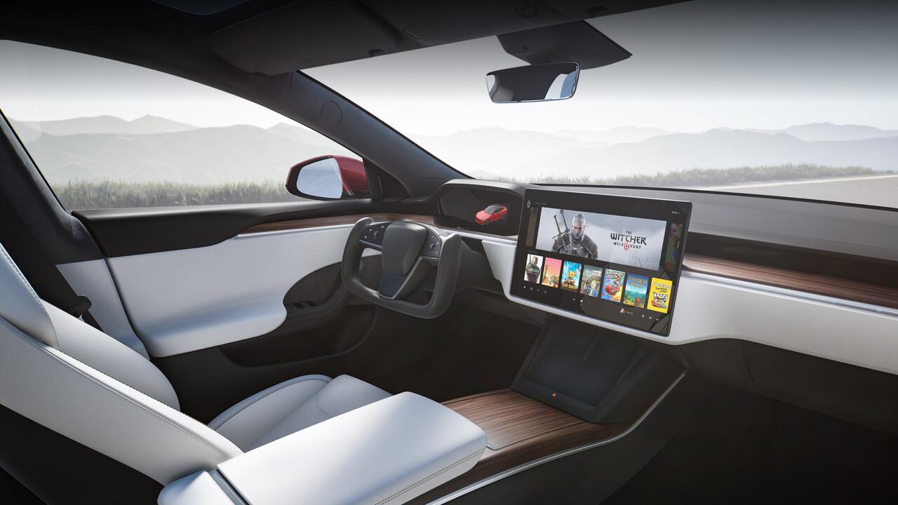 Tesla: Neues Model S und Model X sind Spielkonsolen auf Rädern