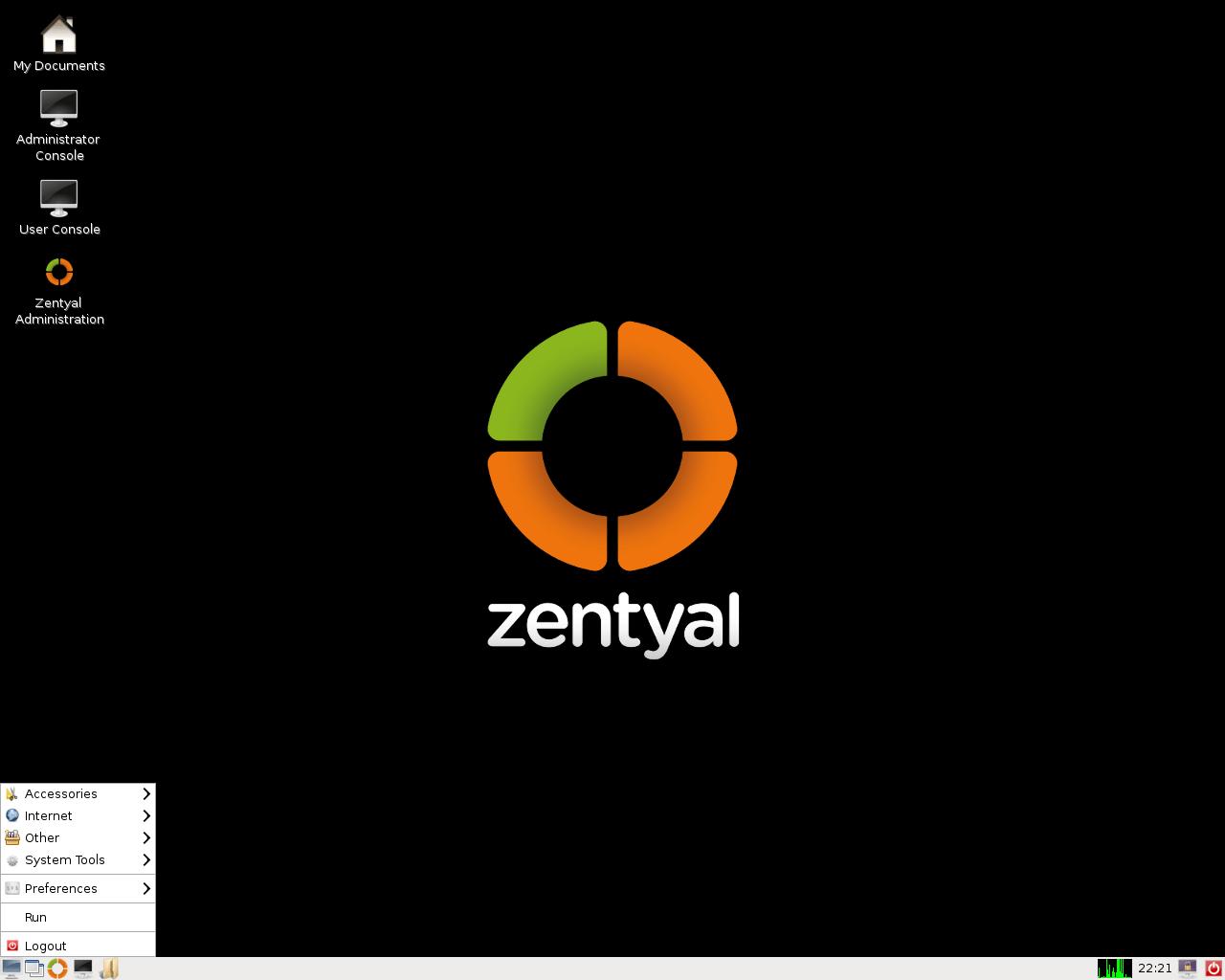 Zentyal Linux Server 7.0 mit LXDE 0.99.2