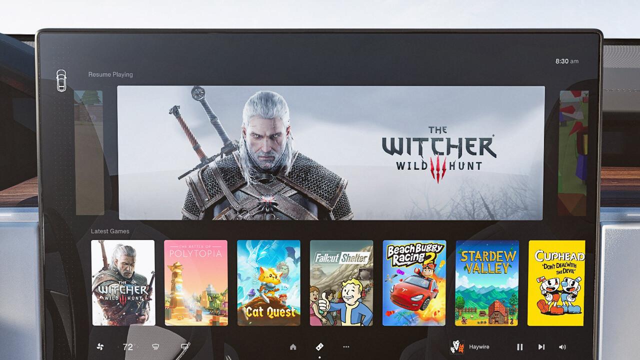 Tesla MCU: AMD Navi 23 soll fahrende Spielkonsolen ermöglichen