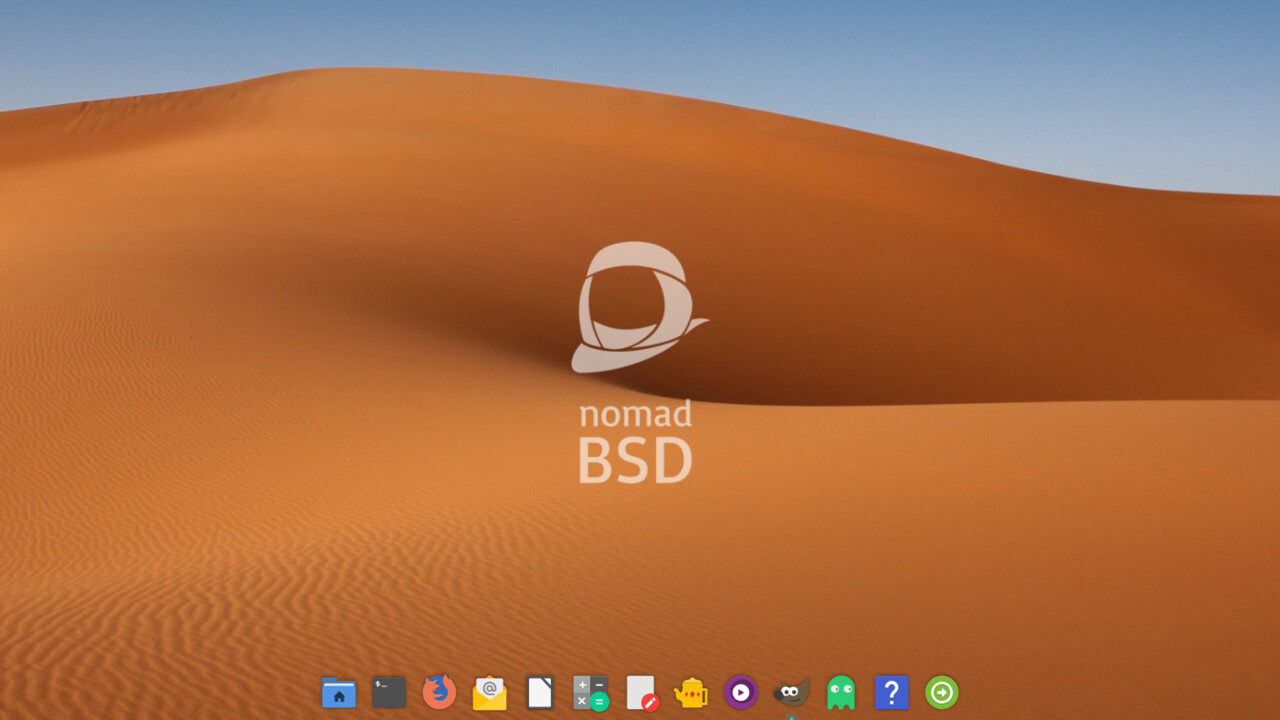 NomadBSD 1.4 RC1: Live-Betriebssystem auf FreeBSD-Basis mit Persistenz